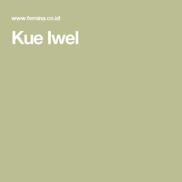 Kue Iwel
