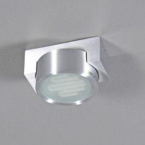 Badezimmerleuchte - Dusche - Deckenleuchte Topaz Aluminium - Deckenleuchten Außen - Außenbeleuchtung - lampenundleuchten.de