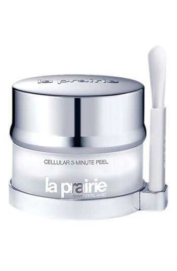 La Prairie Cellular 3-Minute Peel (the best thing ever)