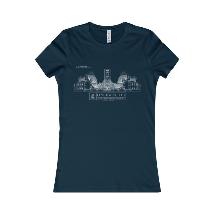 CenturyLink Field Women's Favorite Short-Sleeve Tee