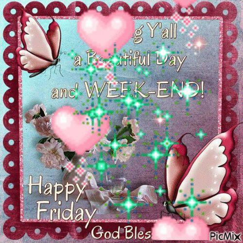Happy Friday & weekend | days &weekend giff | Pinterest ...