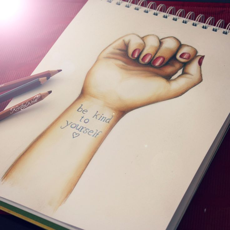 22 best self harm drawing images on pinterest depressing for How to cut yourself with glass