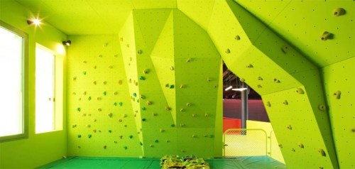 Climb Wall Interior Design