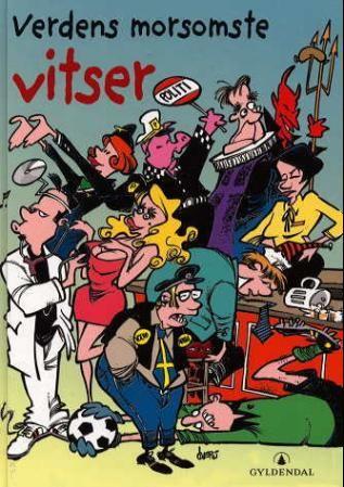 """""""Verdens morsomste vitser"""" av Frode Øverli"""