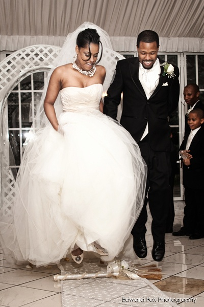 """25 Best """"Jumping The Broom"""" Ceremony Images On Pinterest"""