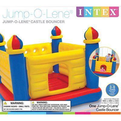 Jump-O-Lene Kids Inflatable Bouncy House Castle
