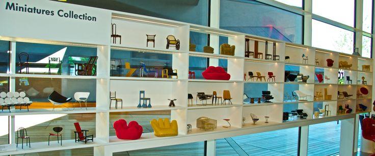 Vitra shop, miniatures collection