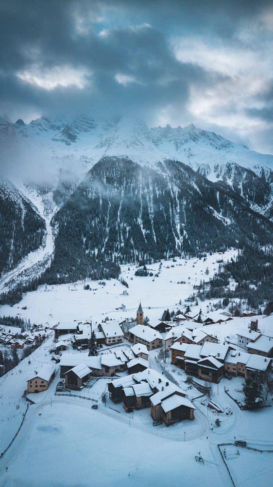 Swiss Winter. by Johannes Hulsch on 500px