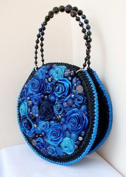 Желанный аксессуар - сумочки . / Вышивка / Вышивка лентами