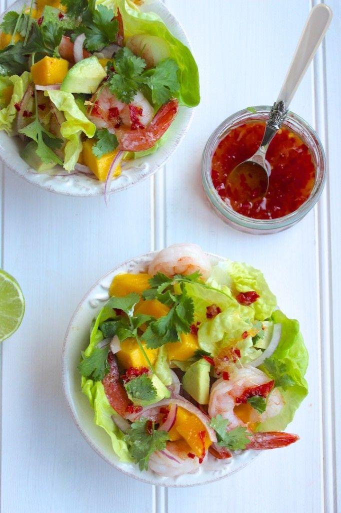Mini Shrimp & Mango Cups Recipe — Dishmaps