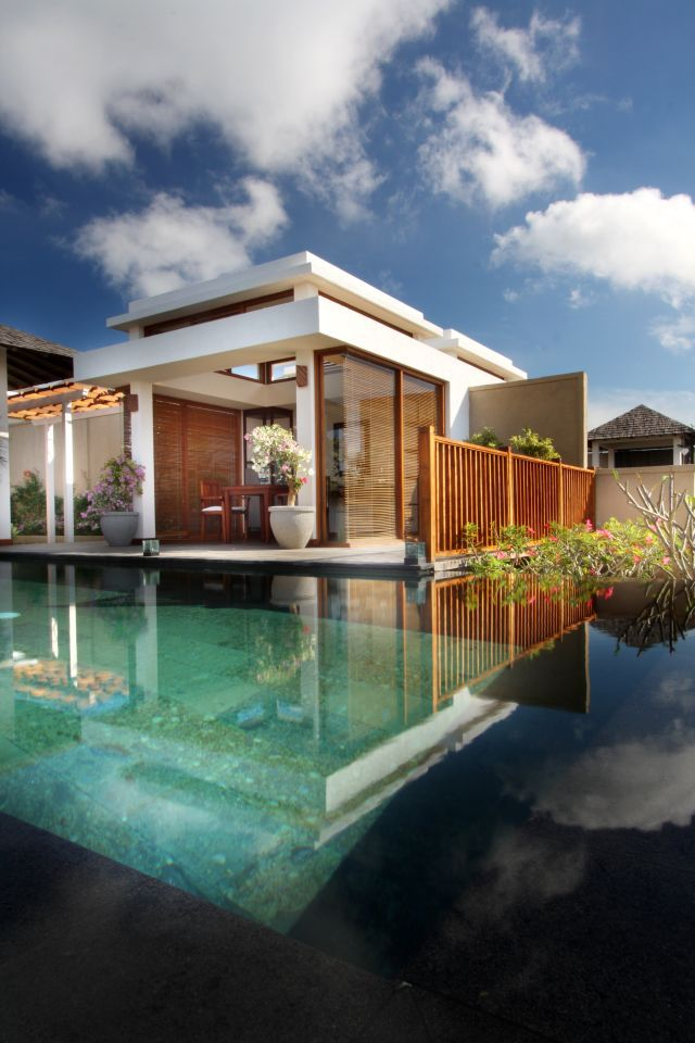Bali style houses beautiful small bali house plans for Balinese style home designs