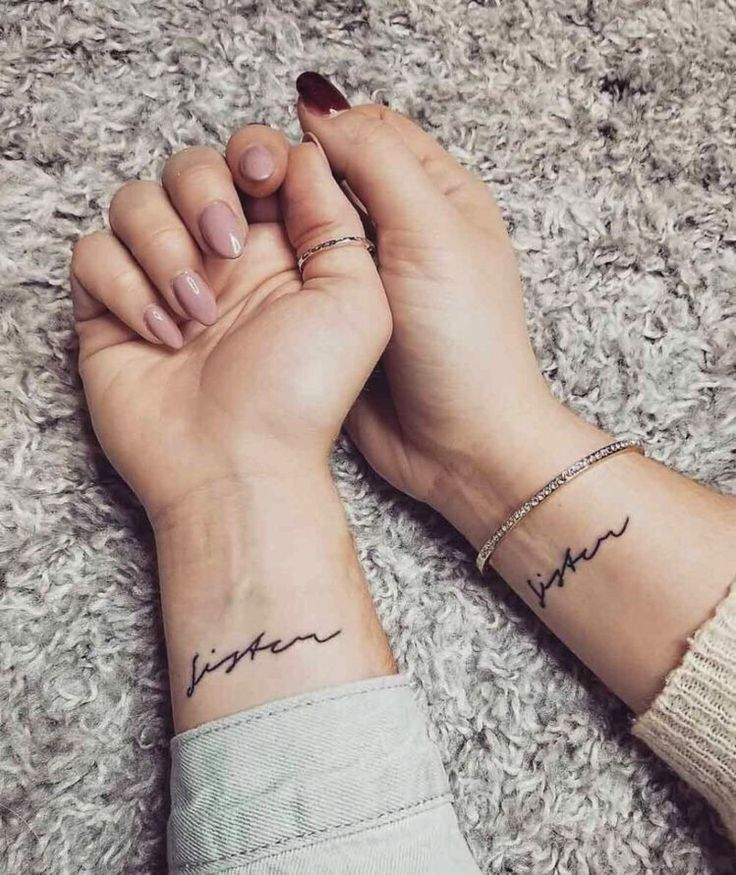 42 Coolest Matching BFF Tattoos That Prove Your Friendship Is Forever | Ecemella