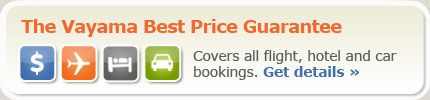 The Vayama European travel search engine