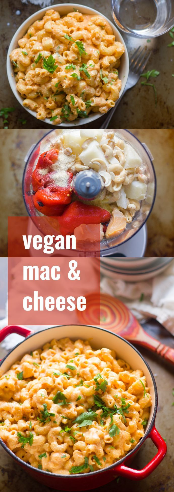 This creamy vegan mac and cheese is made with pasta smothered in a creamy, flavor-packed but dairy-free sauce. A guaranteed hit with kids and adults alike!