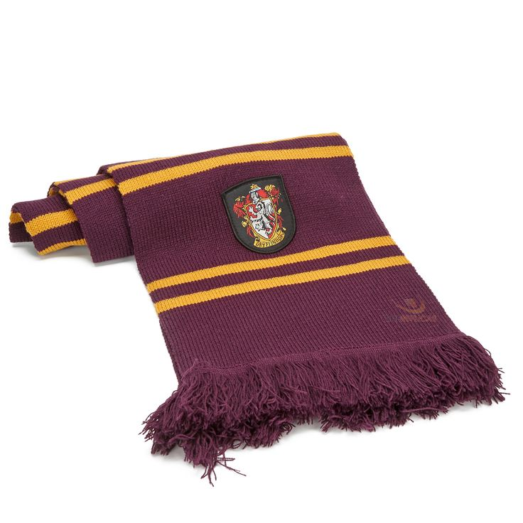 patron tricot echarpe harry potter