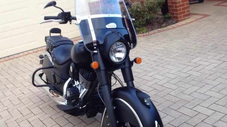 How I pimped out my Indian Darkhorse on the cheap using eBay parts