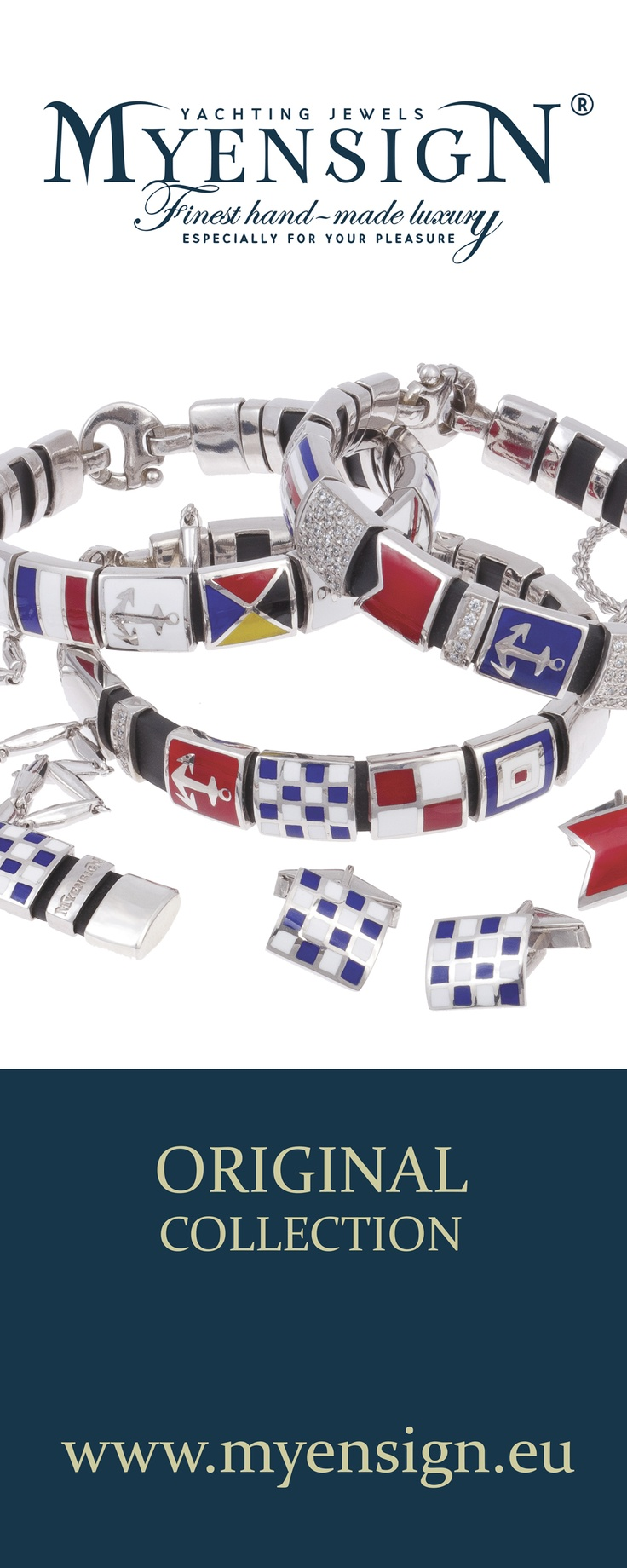 MyEnsign #Yachting # Jewels  Original Collection