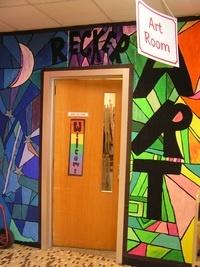 Jacob Shapiro Elementary art room