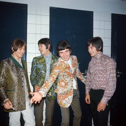 The Small Faces backstage c. 1967