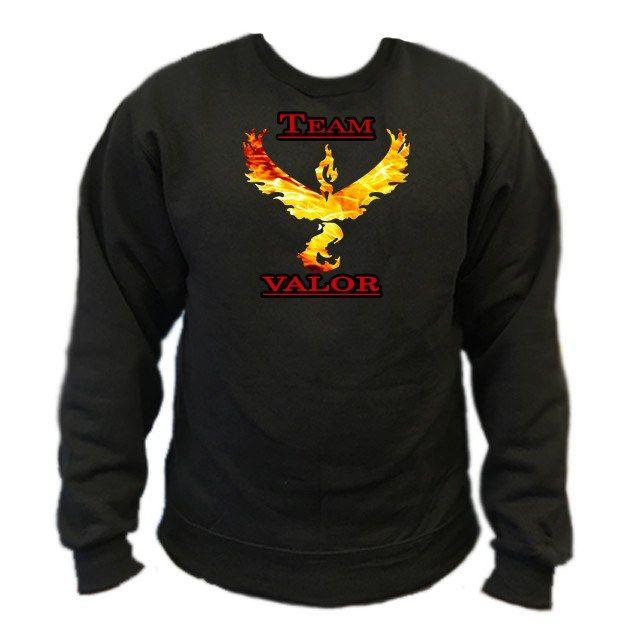 Pokemon Go Team Valor: Fire Crewneck Sweatshirt