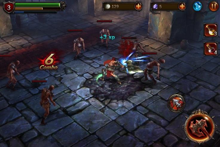 Dla wszystkich poszukujących darmowego hacknslasha na telefon mam rozwiązanie - Eternity Warriors 2! Gra jest dostępna z darmo, a my tniemy i rąbiemy naszych wrogów w mrocznych korytarzach. W końcu kto ma powstrzymać inwazje demonów na świat, jak nie my?!