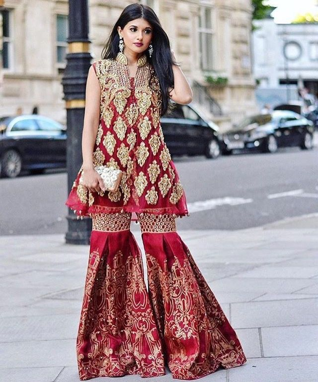 437 best gharara sharara images on pinterest pakistani for Indian wedding guest dresses uk