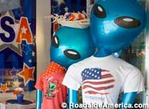 Roswell New Mexico...definitely want to see the aliens and Area 51...it's just so kitschy =)