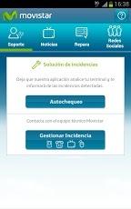 """""""Soporte Movistar"""" aplicación de gestión de incidencias para sus clientes"""