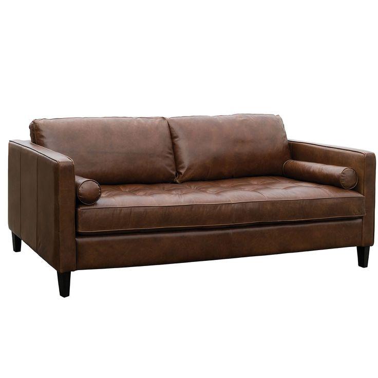 Flexsteel Sofa Dapper Leather Sofa