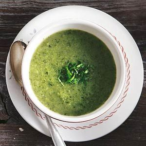 Recept - Broccoli-courgettesoep - Allerhande