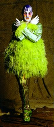 Leigh Bowery by Peglessness, via Flickr