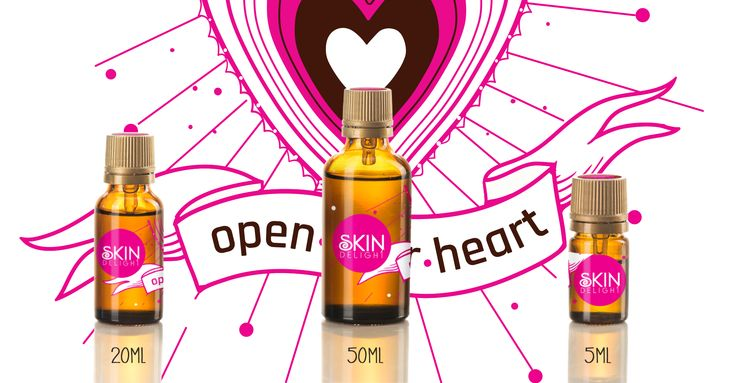 SkinDelight Open your heart skin oil - opening your heart chakra with your daily natural organic skincare
