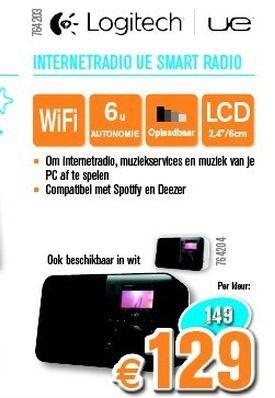 Logitech internetradio ue smart radio