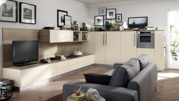 | #Relax and #Comfort in the #LivingRoom by #Scavolini |