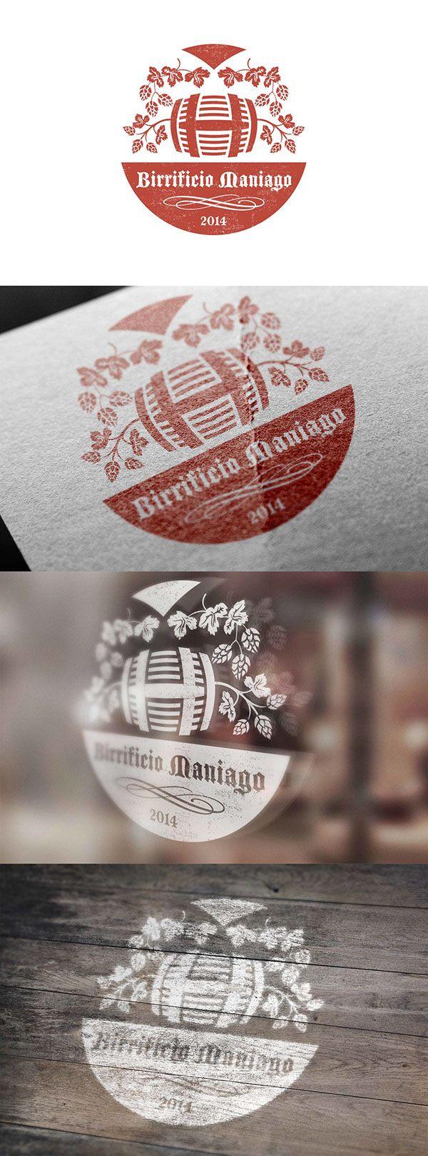 "Logo ""Birrificio Maniago"" on Behance"