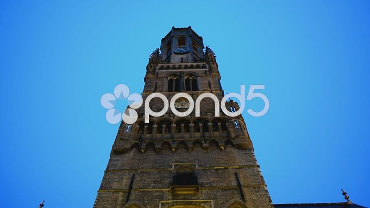 The Belfry of Bruges, Belgium - Stock Footage | by glenman77