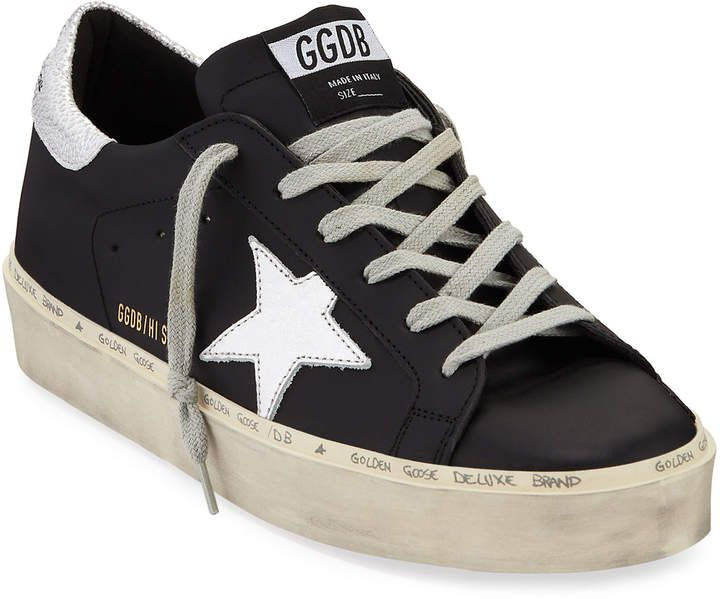 Golden Goose Smooth Leather Low-Top