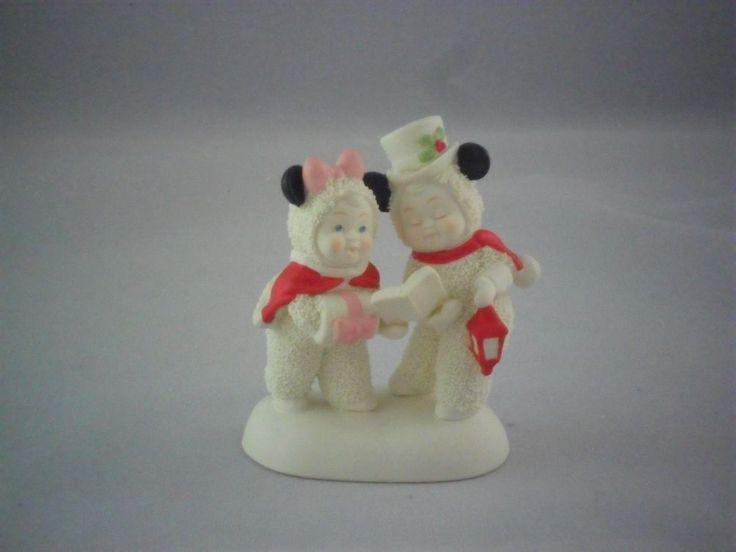 Dept 56 Snowbabies Disney Christmas Carols #4031849 SB New in Box