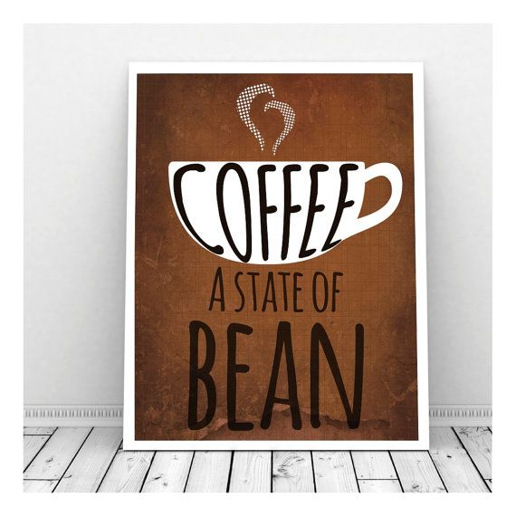 Funny Kitchen Art Funny Wedding Sign Instant Download Tea: 25+ Best Coffee Puns Ideas On Pinterest
