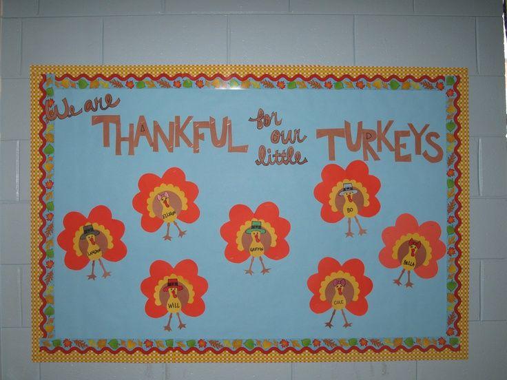 Preschool thanksgiving Bulletin Board Sayings | thanksgiving bulletin board | class ideas
