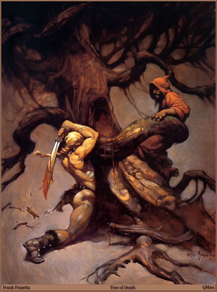 Frank Frazetta. Tree of Death