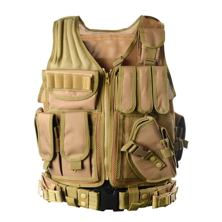 Tactical Airsoft Paintball Combat Military Swat Assault Army Shooting Hunting Outdoor Police Swat Vest