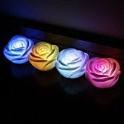 LED Rose Favors (Set of 4 in Assorted Colors) – USD $ 4.99