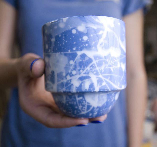 Porcelanowa filiżanka - imkadesign - Kubki i filiżanki
