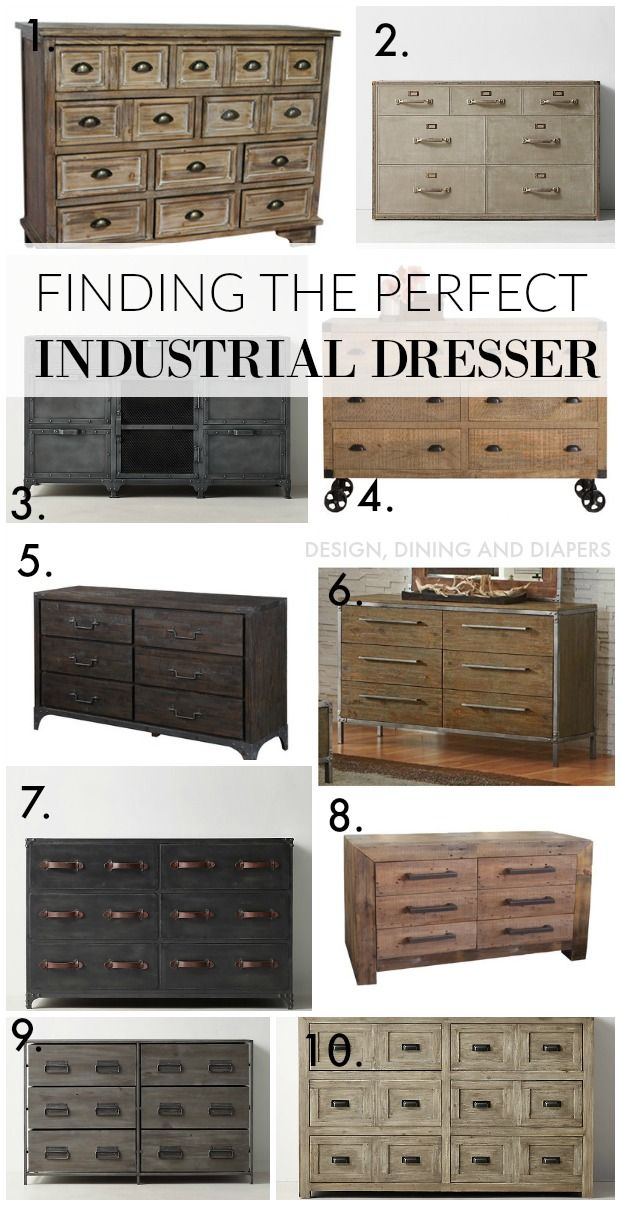 Best 25+ Industrial dresser ideas on Pinterest | Industrial kids ...