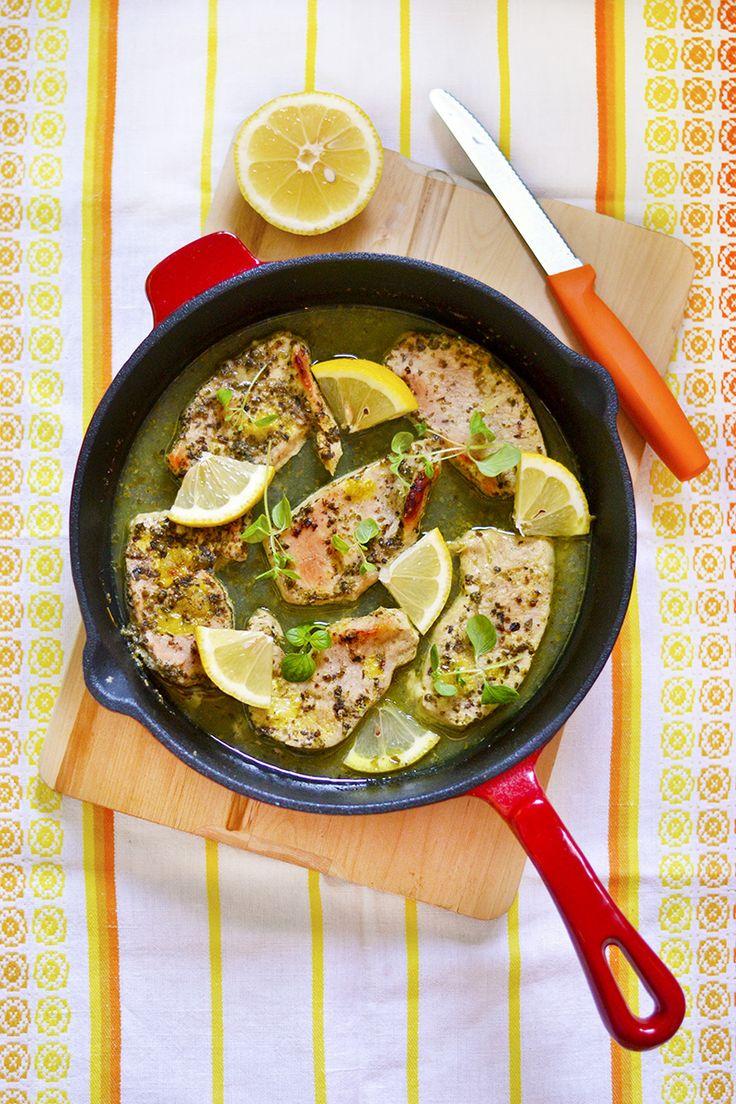 maistuu makialle: Oregano-Sitruunakalkkunaa Uunissa