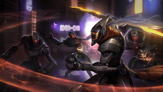 League of Legends PROJECT YI Login Theme
