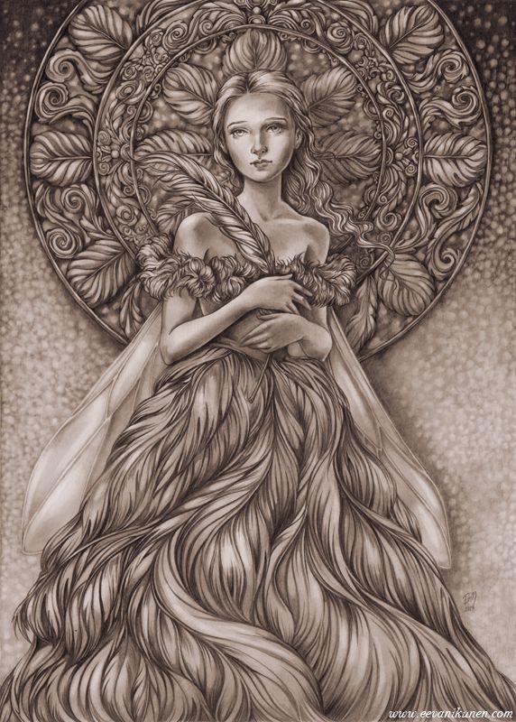 'Queen of Feathers' by Eeva Nikunen.