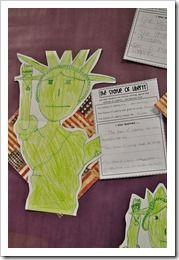 Statue of Liberty Facts: Liberty Writing, Open House, Socialstudi Government, Schools Ideas, Statues Facts, Liberty Facts, Statues Of Liberty, Liberty Ideas, Social Study