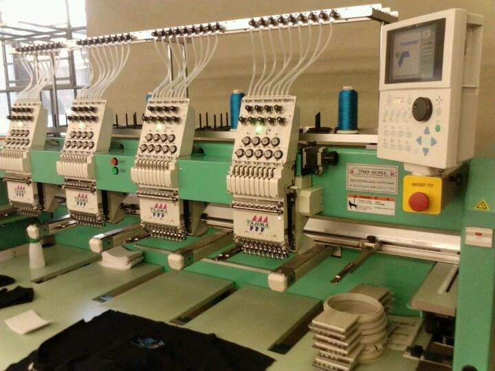 Tajima tfmx iic industrial embroidery machine things